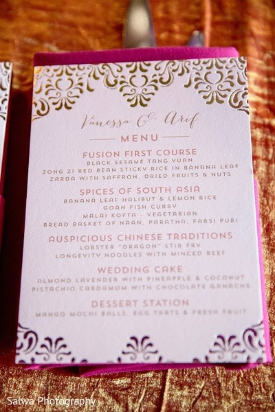 Stationery in Long Island, NY Indian Fusion Wedding by Salwa Photography