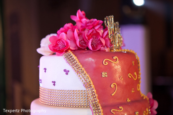 Wedding cake in Dallas, TX Indian Fusion Wedding by Texpertz Photography