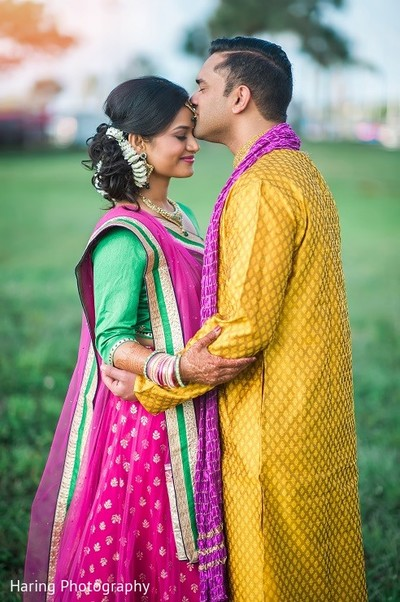 Pre-Wedding Portrait in Safety Harbor, FL Indian Fusion Wedding by Haring Photography