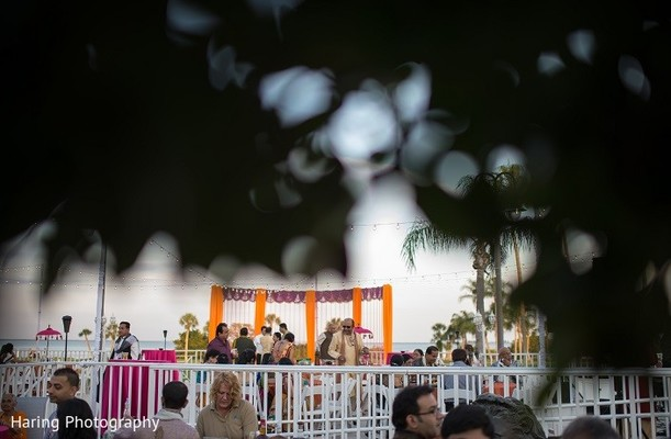 Garba in Safety Harbor, FL Indian Fusion Wedding by Haring Photography