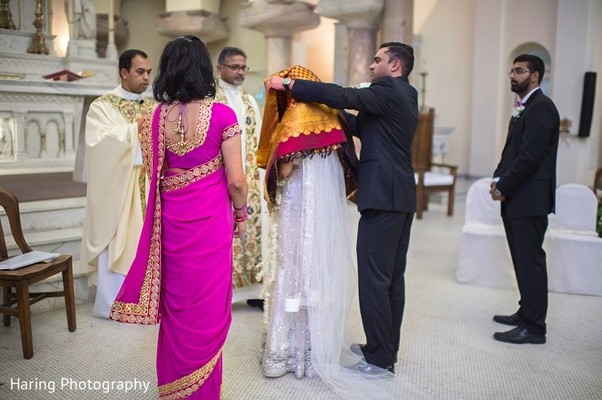 Catholic Ceremony in Safety Harbor, FL Indian Fusion Wedding by Haring Photography