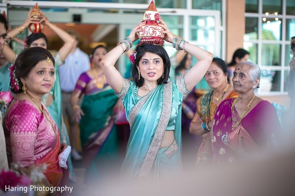 Baraat in Safety Harbor, FL Indian Fusion Wedding by Haring Photography