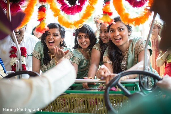 Ceremony in Safety Harbor, FL Indian Fusion Wedding by Haring Photography