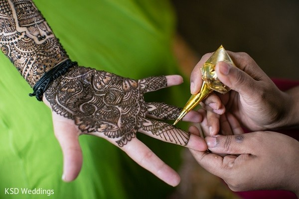 Mehndi in Hauppauge, NY Indian Wedding by KSD Weddings