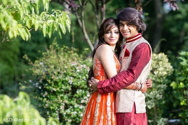 Pre-Wedding Portrait in Hauppauge, NY Indian Wedding by KSD Weddings