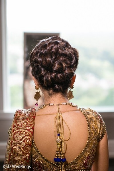 Hair in Hauppauge, NY Indian Wedding by KSD Weddings
