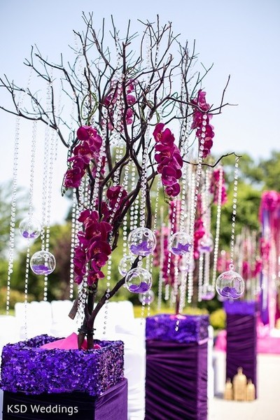 Ceremony Decor in Hauppauge, NY Indian Wedding by KSD Weddings