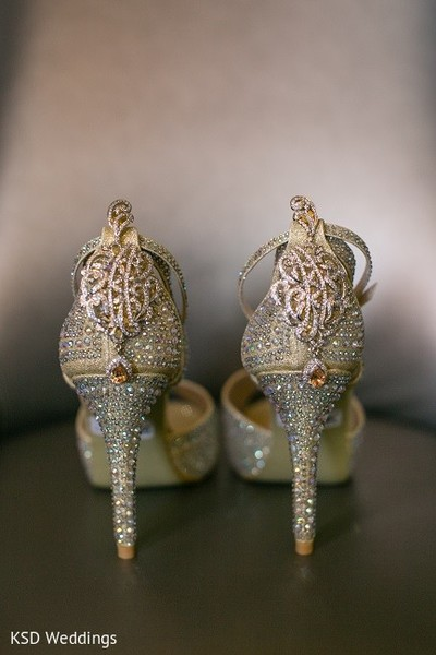Jewelry & Shoes in Hauppauge, NY Indian Wedding by KSD Weddings