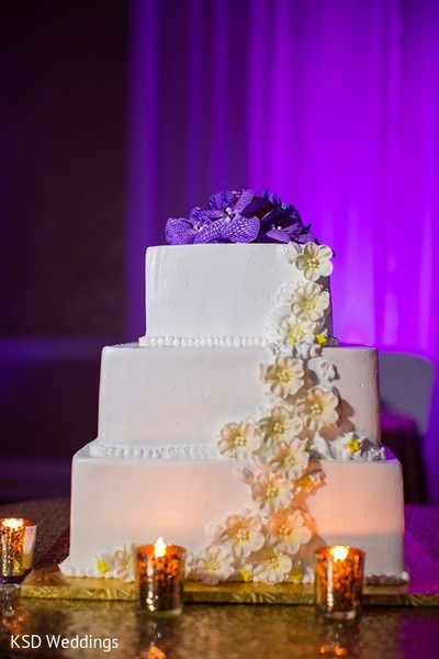 Wedding Cake in Hauppauge, NY Indian Wedding by KSD Weddings