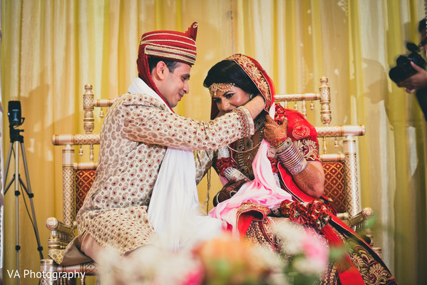 Hindu wedding ceremony in Fremont, CA Indian Fusion Wedding by VA Photography
