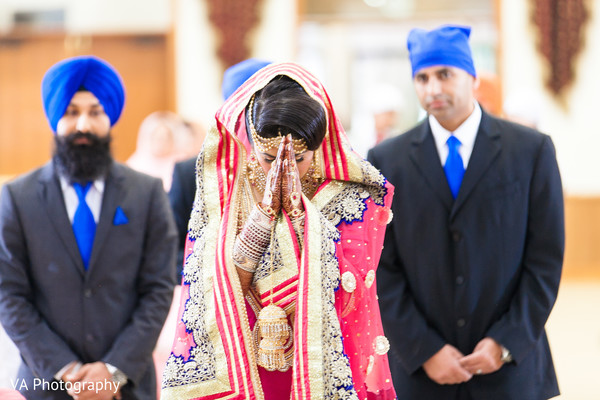 Sikh wedding in Fremont, CA Indian Fusion Wedding by VA Photography