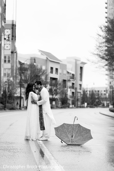Wedding portrait in Atlanta, GA Pakistani Wedding by Christopher Brock Photography