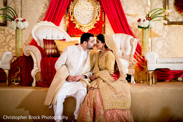Indian bride and groom photography in Atlanta, GA Pakistani Wedding by Christopher Brock Photography