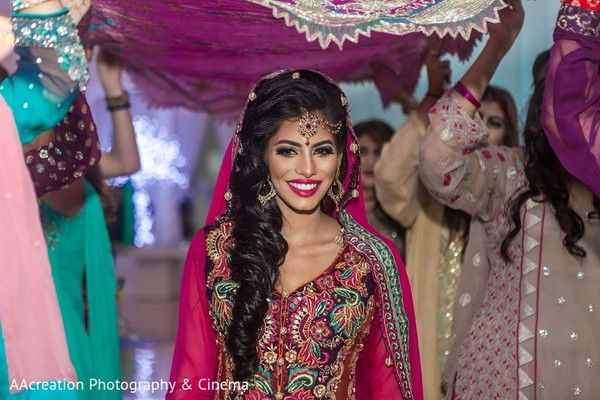 Mehndi Night Makeup : Cerritos ca pakistani wedding by aacreation photography