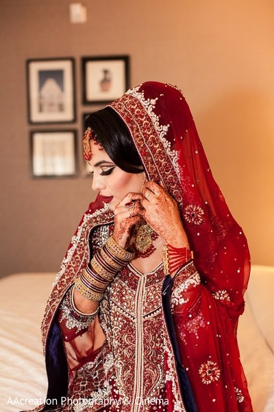 Getting Ready in Cerritos, CA Pakistani Wedding by AAcreation Photography & Cinema