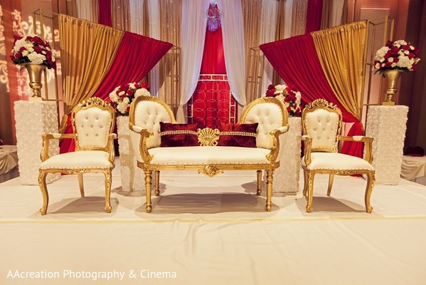 Ceremony Decor in Cerritos, CA Pakistani Wedding by AAcreation Photography & Cinema
