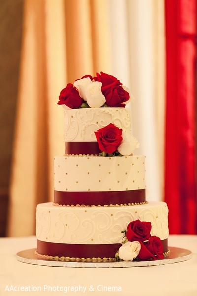 Wedding Cake in Cerritos, CA Pakistani Wedding by AAcreation Photography & Cinema