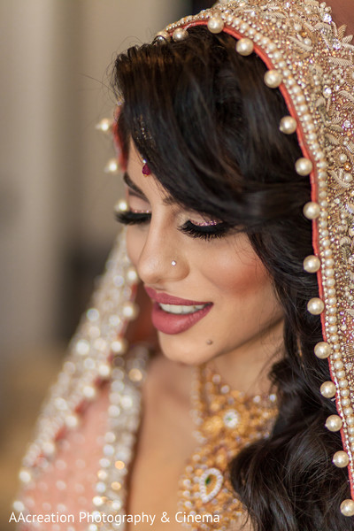 Hair & Makeup in Cerritos, CA Pakistani Wedding by AAcreation Photography & Cinema
