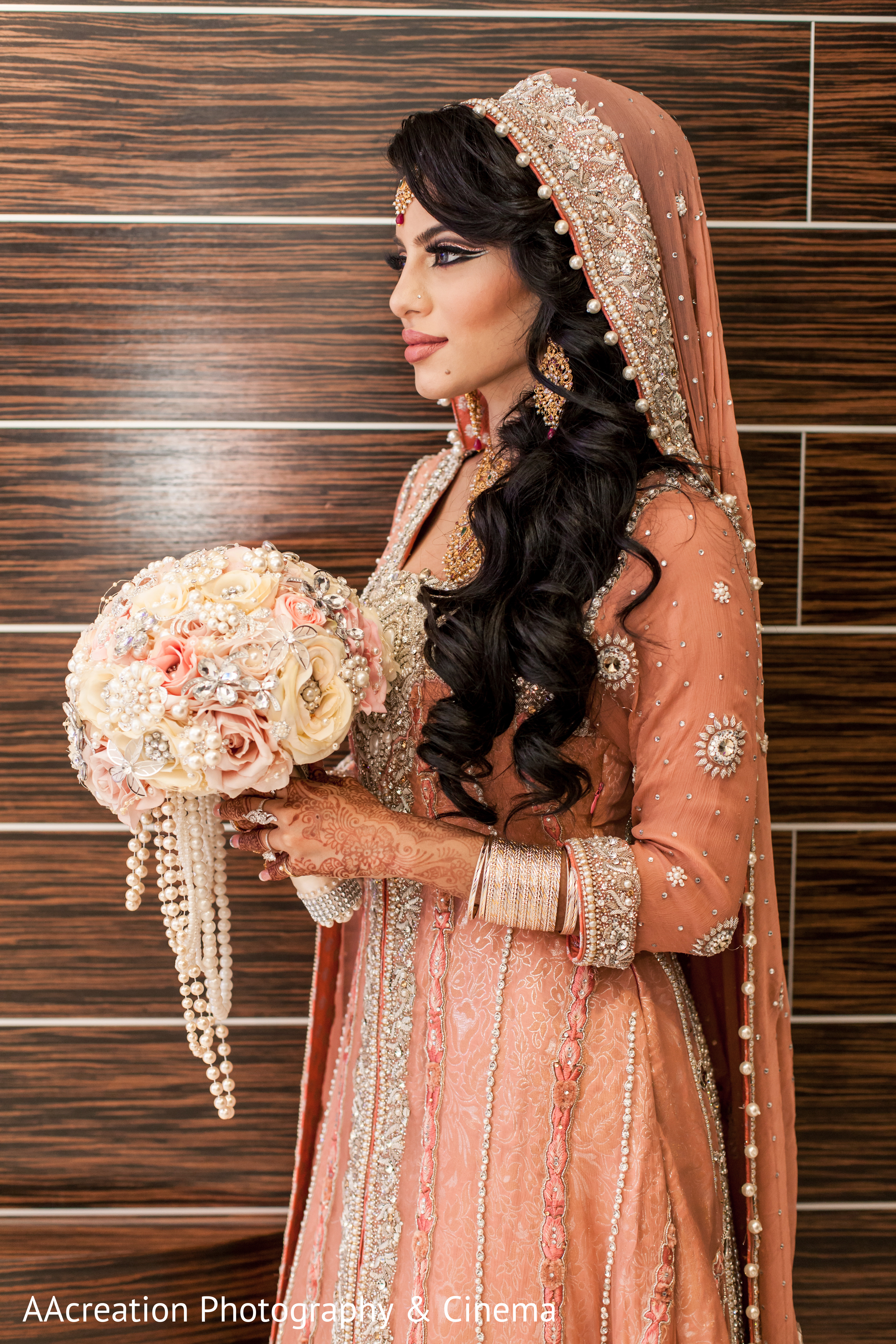 Walima Portrait in Cerritos CA Pakistani Wedding by