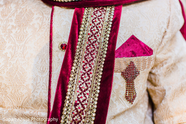 Groom Fashion in Chicago, IL Indian Wedding by Sapan Ahuja Photography