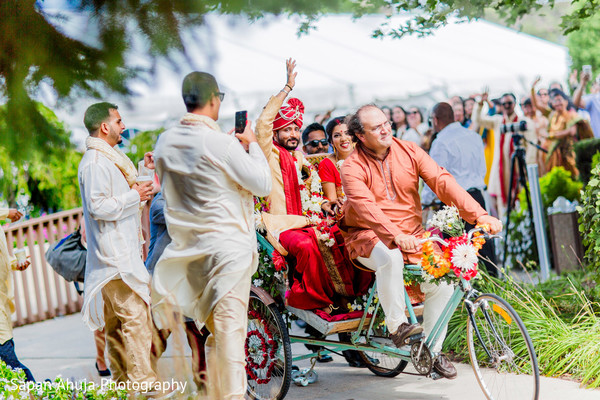 Ceremony Exit in Chicago, IL Indian Wedding by Sapan Ahuja Photography