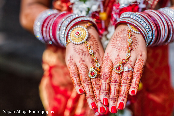 Mehndi & Jewelry in Chicago, IL Indian Wedding by Sapan Ahuja Photography