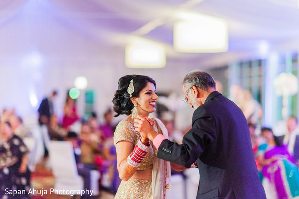 Reception in Chicago, IL Indian Wedding by Sapan Ahuja Photography