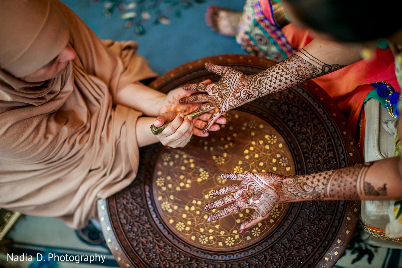 Mehndi Party : Mehndi party in irving tx indian wedding by nadia d