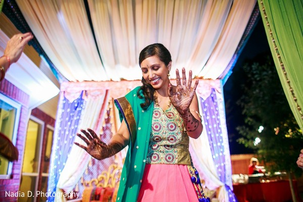 Mehndi Party in Irving, TX Indian Wedding by Nadia D. Photography
