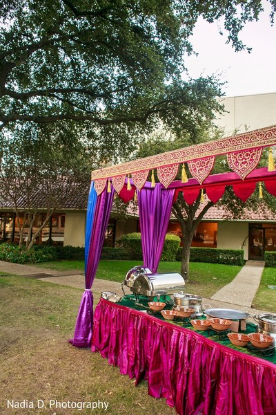 Sangeet Decor in Irving, TX Indian Wedding by Nadia D. Photography