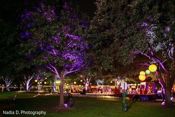 Lighting in Irving, TX Indian Wedding by Nadia D. Photography