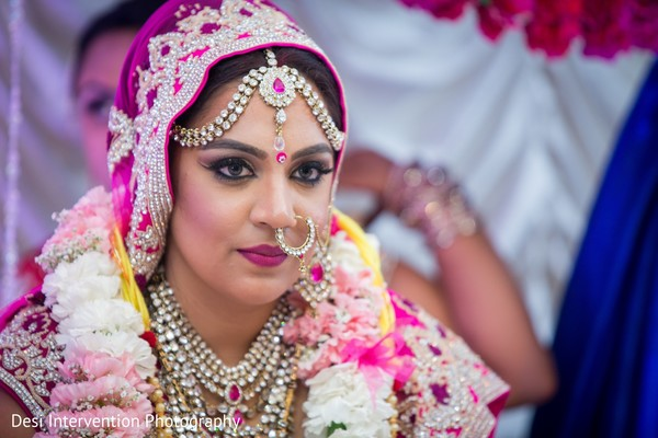 Bridal details in Sacramento, CA Indian Wedding by Desi Intervention Photography