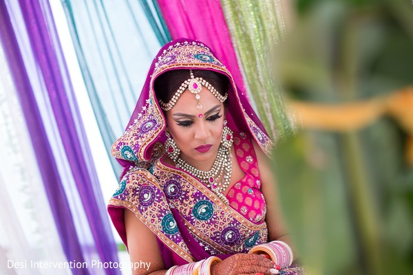 Lengha details in Sacramento, CA Indian Wedding by Desi Intervention Photography