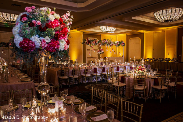 Floral & Decor in Irving, TX Indian Wedding by Nadia D. Photography