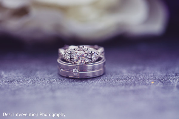 Rings in Sacramento, CA Indian Wedding by Desi Intervention Photography