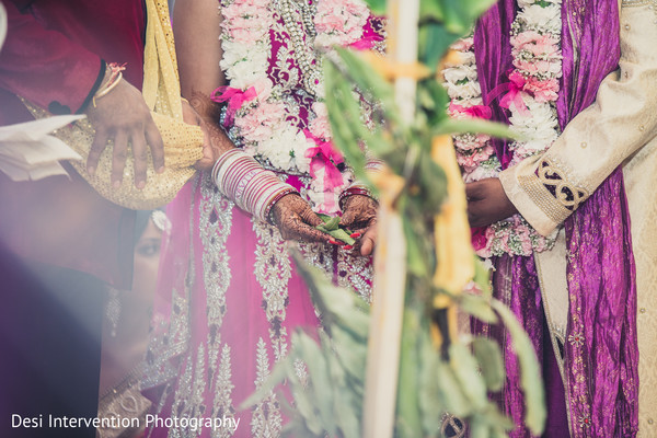 Ceremony in Sacramento, CA Indian Wedding by Desi Intervention Photography