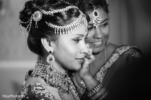 Getting Ready in Somerset, NJ  Indian Wedding by MaxPhoto NY