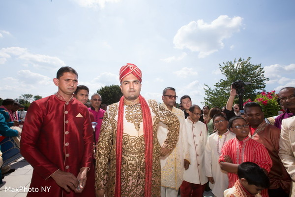 Baraat in Somerset, NJ  Indian Wedding by MaxPhoto NY