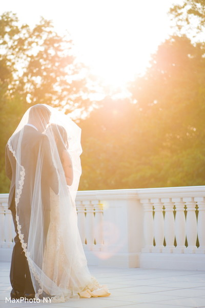 First Look in Somerset, NJ  Indian Wedding by MaxPhoto NY