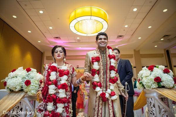 Ceremony in Huntington, NY Indian Wedding by Digital Memory Studio