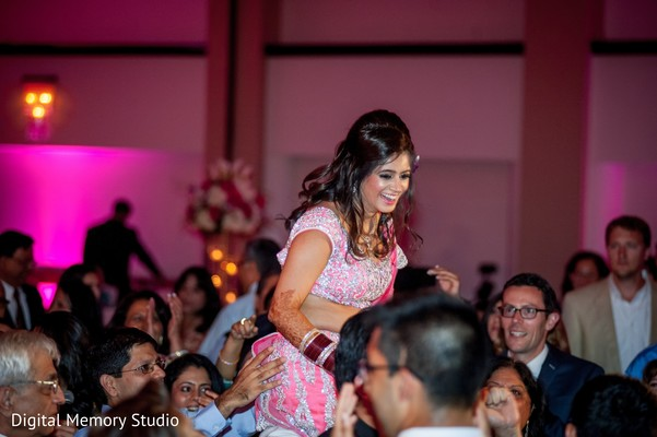 Reception in Huntington, NY Indian Wedding by Digital Memory Studio