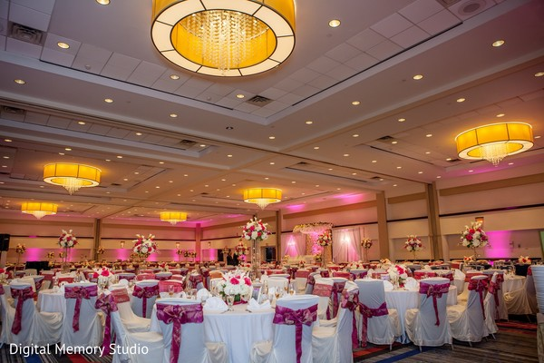 Reception venue in Huntington, NY Indian Wedding by Digital Memory Studio