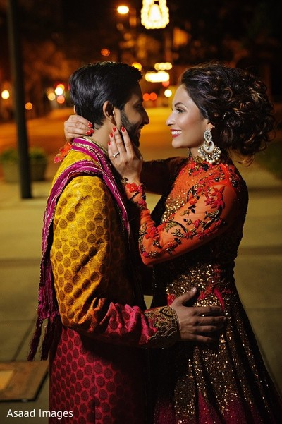 Sangeet Portrait in Tampa, FL Indian Wedding by Asaad Images