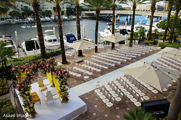 Venue in Tampa, FL Indian Wedding by Asaad Images