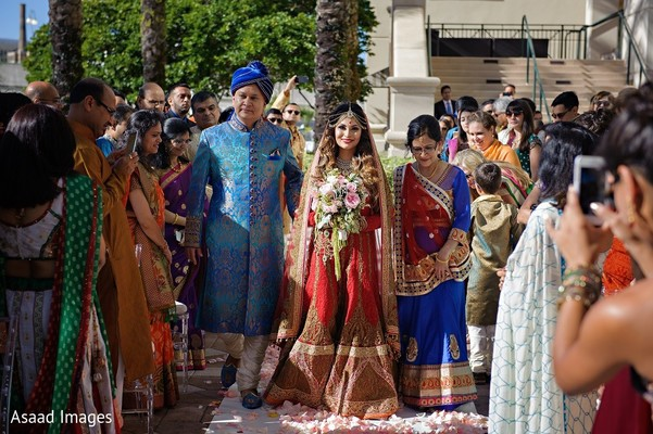Ceremony in Tampa, FL Indian Wedding by Asaad Images