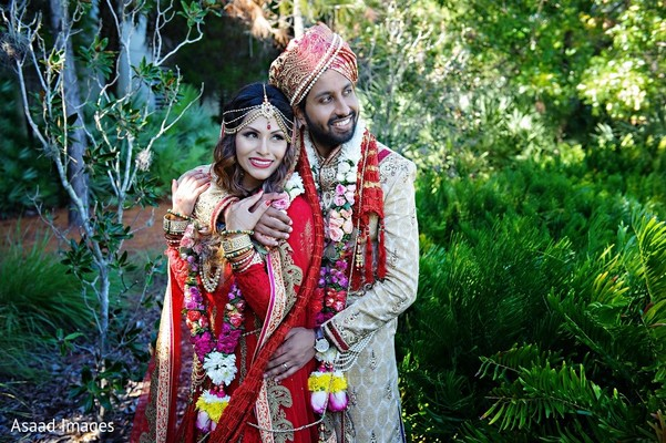 Wedding Portrait in Tampa, FL Indian Wedding by Asaad Images