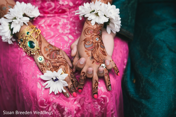 Mehndi hands in Austin, TX South Asian Wedding by Sloan Breeden Photography