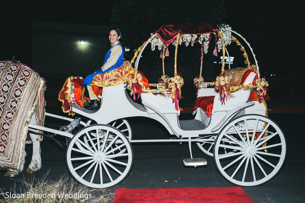 Carriage in Austin, TX South Asian Wedding by Sloan Breeden Photography