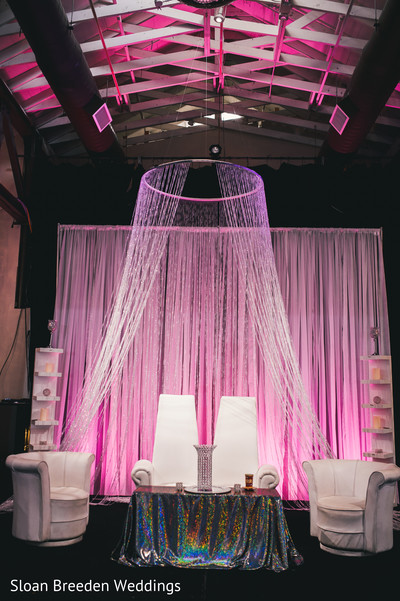 Sweetheart stage in Austin, TX South Asian Wedding by Sloan Breeden Photography