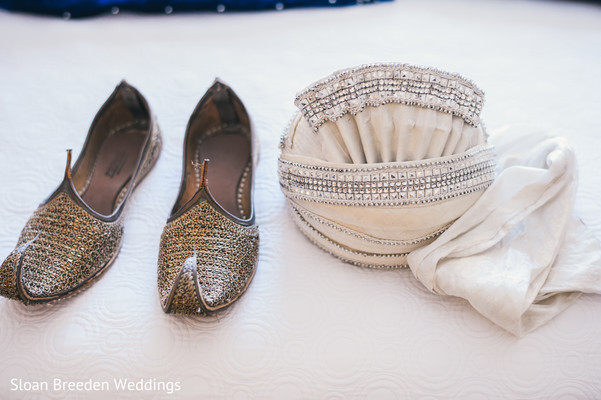 Groom accessories in Austin, TX South Asian Wedding by Sloan Breeden Photography